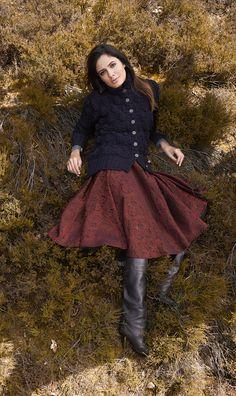 Lana Grossa JACKE IM ÄHRENMUSTER Alta Moda Alpaca - FILATI No. 48 (Herbst/Winter 2014/15) - Modell 88 | FILATI.cc WebShop