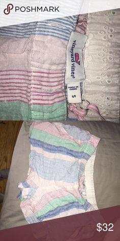 VINEYARD VINES Cotton Shorts In great condition! Will iron before shipping :) Vineyard Vines Shorts