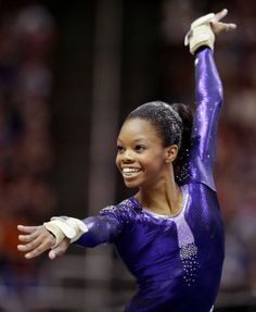 congrats to gabby douglas! only the FOURTH us gymnast to win the olympics all-around and the FIRST african-american!