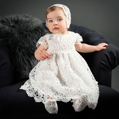 Our Lola Christening Dress is a beautiful gown for your baby. At ChristeningGowns.com we specialize in infant clothes for christenings, baptisms, and holidays.