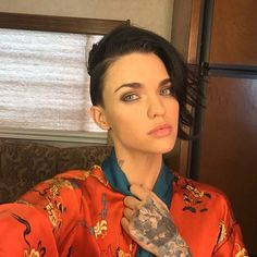 Ruby Rose Is My New Hero Undercut Haircuts And Ruby Rose - Undercut hairstyle ruby rose