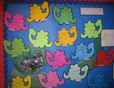 8 simple teaching ideas to help develop communication skills.  Dinosaurs helping to expand the vocabulary.