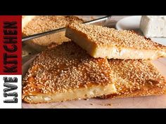 Η σουσαμένια Τυρόπιτα της Τεμπελας, που γίνεται στο πεντάλεπτο! Good Food, Yummy Food, Delicious Recipes, Cheese Pies, Easy 5, Greek Recipes, Kitchen Living, Easy Cooking, Cornbread