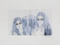 ¡Vendido / Sold! «Miserable V» de Carmen Ávila Grafito y acuarela / papel - Graphite and watercolor on paper   22.9 x 30.5 cm   2015 www.dasubstanz.com/miserable