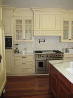 Cream Kitchens Design, Pictures, Remodel, Decor and Ideas - page 23