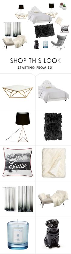 """Dream Room"" by basher-977 ❤ liked on Polyvore featuring interior, interiors, interior design, home, home decor, interior decorating, Nuevo, Skyline, Natural by Lifestyle Group and Lexington"