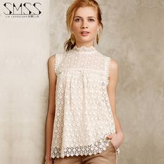 Real Brand Bohemia White Lace Top Female Crochet Lace Shirt 2015 New Summer Sleeveless Slim Women shirt-in Blouses & Shirts from Women's Clothing & Accessories on Aliexpress.com | Alibaba Group