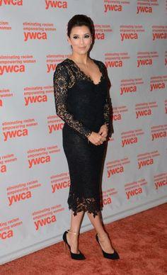 Eva Longoria at the 2013 YWCA USA Women of Distinction Awards Gala