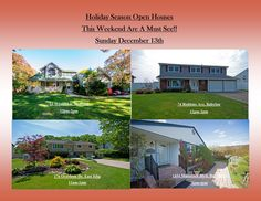 As You Approach This Holiday Season We Have These Amazing Homes That Are A Gift In It Self.   Come Check Them Out!