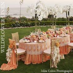 Wildflower Linen <-- wedding linen rentals