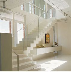 1000 images about escalier on pinterest design wine - Meuble rangement sous escalier ...
