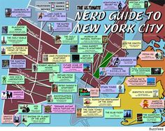 The 'Ultimate Nerd Guide To New York City' Maps Comic-Friendly Destinations