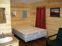 Hot Springs KOA Facilities - Stay in one of our deluxe cabins with bathrooms.  These cabins can sleep up to 4 people and are very comfortable.