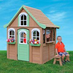 Storytime Cottage Cedar Playhouse