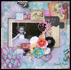 Brandi Matos - Layout- February Challenge- - Creative Embellishments
