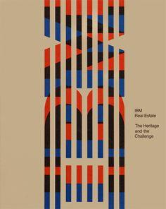 IBM Real Estate Development brochure designed by Robert Vogele