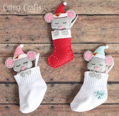Como hacer ratones navideños con moldes04