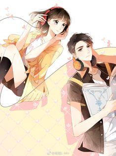 Anime Cupples, Anime Comics, Anime Couples Drawings, Anime Couples Manga, Anime Love Couple, I Love Anime, Manga Couple, Loli Kawaii, Kawaii Anime