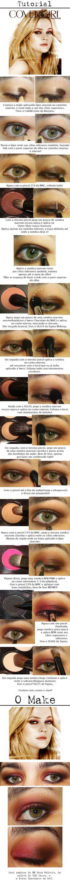 Tutorial - Drew Barrymore, muy buen tutorial de maquillaje