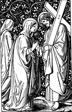 Another Anglican Blog: Line Drawings - Stations of the Cross