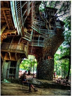 "this goes beyond ""tree house""."