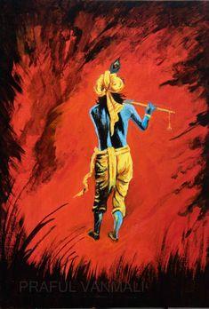 Size: 15x21 In Medium: Acrylic Color Surface: Hardboard Artwork: Original Krishna Painting, Acrylic Colors, Princess Zelda, The Originals, Artist, Artwork, Surface, Paintings, Fictional Characters