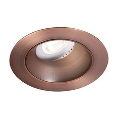 "WAC Lighting Tesla Adjustable 3000K 3.5"" LED Recessed Trim Finish: Copper Bronze"