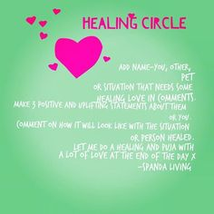 It's healing circle day! Who could resist a free dose of love, healing energy, some mantras for them and universal focus just for you!?!? Follow the steps then get on enjoying your day. Xxx #healing #healingcircle #puja #energy #love #light #healingteam #meditation #yoga #spandacoach #spandaliving #freedom