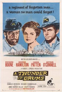 A Thunder Of Drums (1961) - Richard Boone DVD