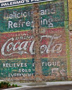 Coca-Cola Ghost Sign, Beloit, WI by Robby Virus, via Flickr