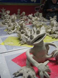 Art at: Ceramic Monsters Professional Learning