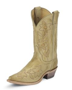 Deer-tanned Cow Boots   Feel like your are wearing gloves on your feet.  The leather gives with every twist and turn of your foot.