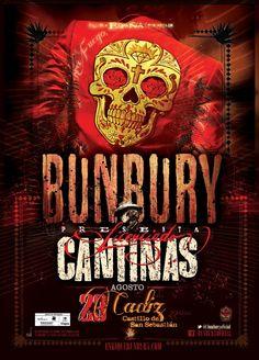 Bunbury - Licenciado Cantinas Tour (Cádiz)