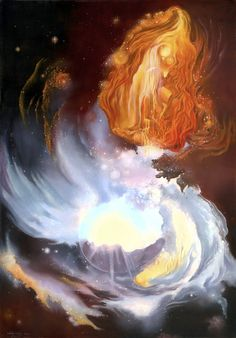 Ecstatic Flow of Enerngy  by Alice Buis