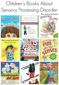 Childrens Books on Sensory Processing Disorder