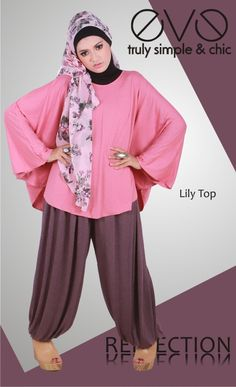 Lily Top  Material : Semi Rayon Spandek  Colour : Pink