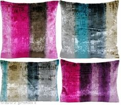 Sofa Decorative Pillow Cushion Cover Designers Guild Fabric Phipps Velvet Stripe | eBay