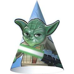LEGOreg  Star Wars Party Hats 8 Pack Star Wars Party Favors 3da54b0512b5