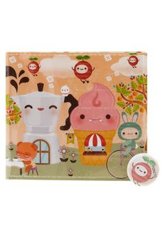 wallet w/ kawaii treats. I'd probably crave ice cream constantly w/ this wallet
