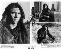 Lou Diamond Phillips - Young Guns movie.  Danced with him at a club in Santa Fe, NM while they were here filming.  To La Bamba -- can you believe it!!