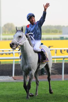TM Fred Texas after a victory in Dubai