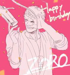11/11 Happy Birthday Zoro