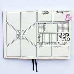 19 Bullet Journal Ideas for Weekly Spreads Weekly Spreads for Bullet Journals – Geometric Spread Bullet Journal And Diary, Bullet Journal Aesthetic, Bullet Journal Printables, Bullet Journal Ideas Pages, Bullet Journal Spread, Bullet Journal Layout, Bullet Journal Inspiration, Weekly Log, Journal Organization