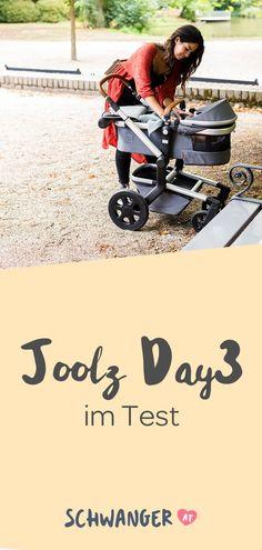 Er ist wohl einer der wichtigsten Bestandteile der Baby-Ausstattung: der Kinderwagen. Die meisten Eltern beginnen mit der Suche nach dem passenden Modell schon während der Schwangerschaft – was auch durchaus Sinn macht, da manche Hersteller Lieferzeiten von bis zu sechs Monaten (je nach Modell) haben können. Ein Dauerbrenner sind sogenannte Kombikinderwagen. Joolz Day 2, Bike, Gym, Sports, Kids Wagon, Parents, Pregnancy, Scale Model, Bicycle