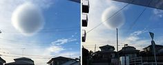 This strange 'spherical' cloud appeared in the sky over Japan http://cstu.io/f3a9c5 #WonderOfScience #BuzzBasement #ScienceLovers