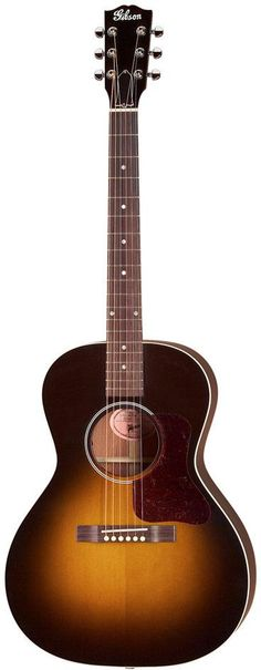Gibson Blues King.  This is one of Gibson's new takes on their early 1900s acoustic guitar designs - note the old logo on the headstock. This modern version is acoustic-electric and comes with an LR Baggs Element Active pickup system.