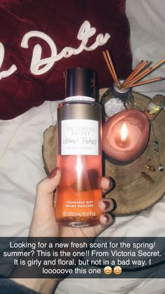 Smelling good all day has never been as easy as with this Victoria Secret body mist! Stay smelling like a snack! Victoria Secret Fragrances, Victoria Secret Perfume, Victoria Secret Body Spray, Bath And Body Works Perfume, Mini Pancakes, How To Grow Natural Hair, Baddie Tips, Body Hacks, Night Routine