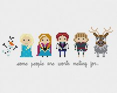 Disney Princess Minis Once Upon A Time Cross by pixelsinstitches