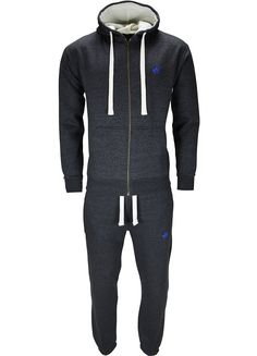 6cd99b82598 New Mens Tracksuit Set Fleece Hoodie Top Bottoms Jogging Joggers Gym Horse  Pony (XL