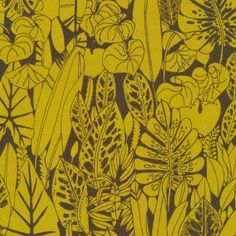 159714 Foliage | Green Quilter's Cotton from Bird's Eye View by Sarah Watson for Cloud9 Fabrics